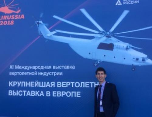 «CMZ-консалтинг» посещает HeliRussia 2018